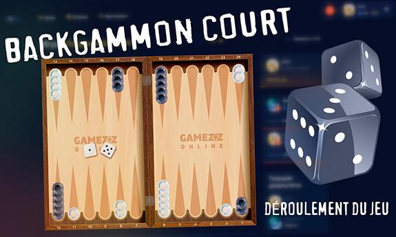 Backgammon court