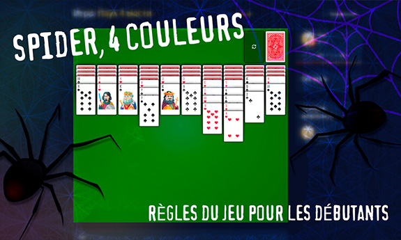 Spider 4 couleurs