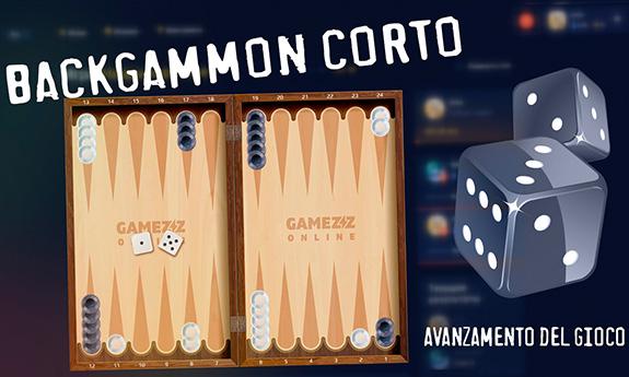 Backgammon corto